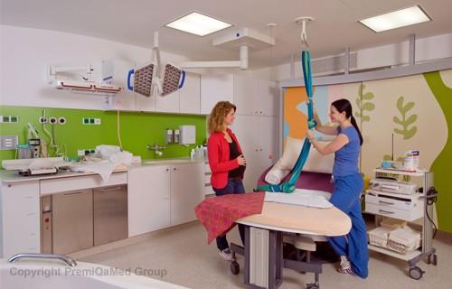 Передовое родильное отделение в клинике Дёблинг