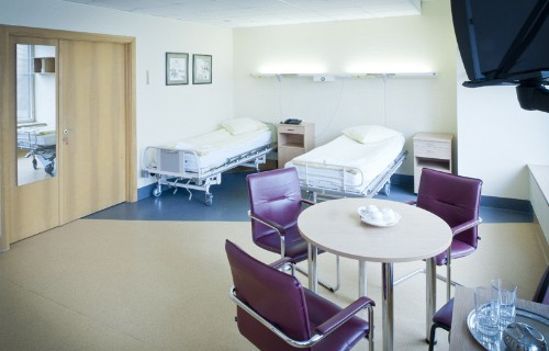 Patients room at Kardiolita hospital
