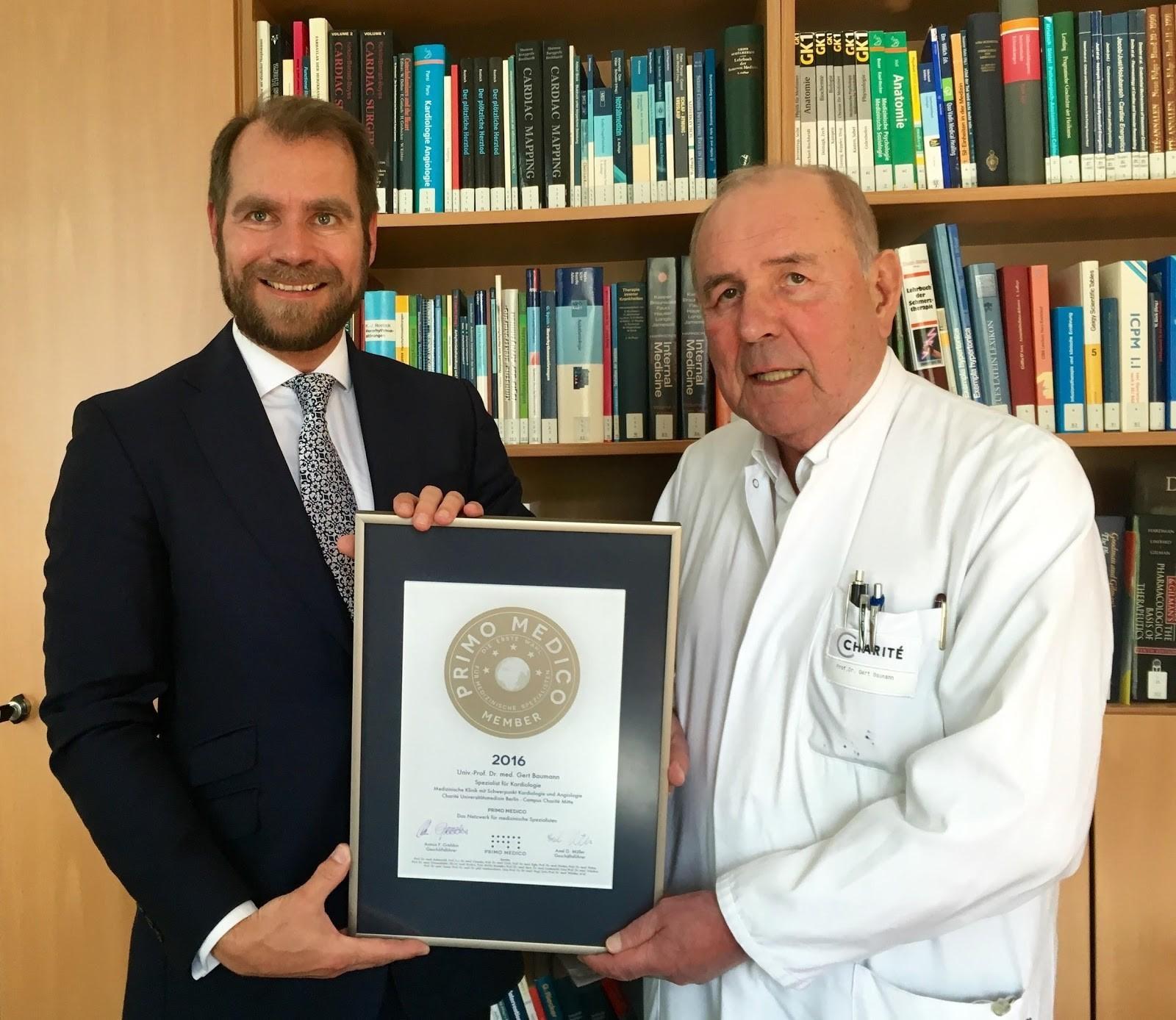 Professor Dr. med. Gert Baumann
