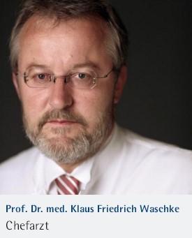 Professor Klaus Friedrich Waschke