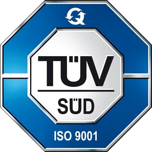 TÜV ISO 9001