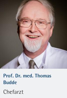 Professor Dr.med Thomas Budde