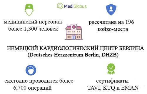 немецкий кардиологический центр берлина