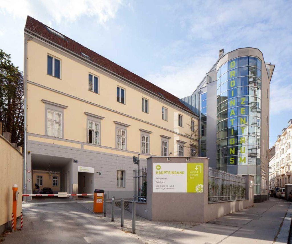 Confraternitat private Hospital in Austria