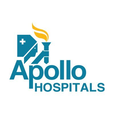Клиника Аполло в Индии логотип