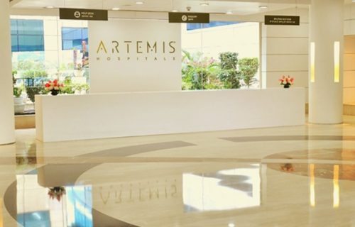 medical treatment cost at artemis hospital