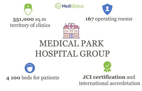 infrastructure of medical park hospital group