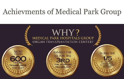 more than 3000 organ transplatations at medical park hopital