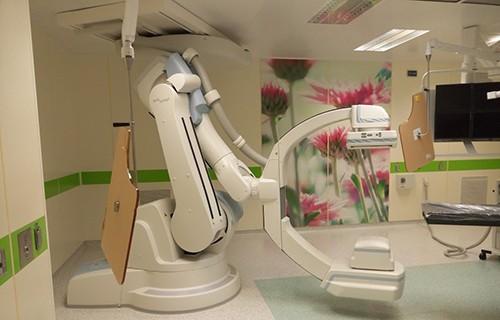 Институт сердца, Институт внутренних болезней, все хирургические и терапевтические подразделения и отделение кардиореанимации