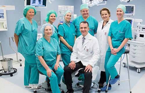 В клинике Рудольфинерхаус работают опытные врачи по 22 специальностям