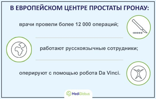 Диагностика и лечение урологических заболеваний в Европейском центре простаты