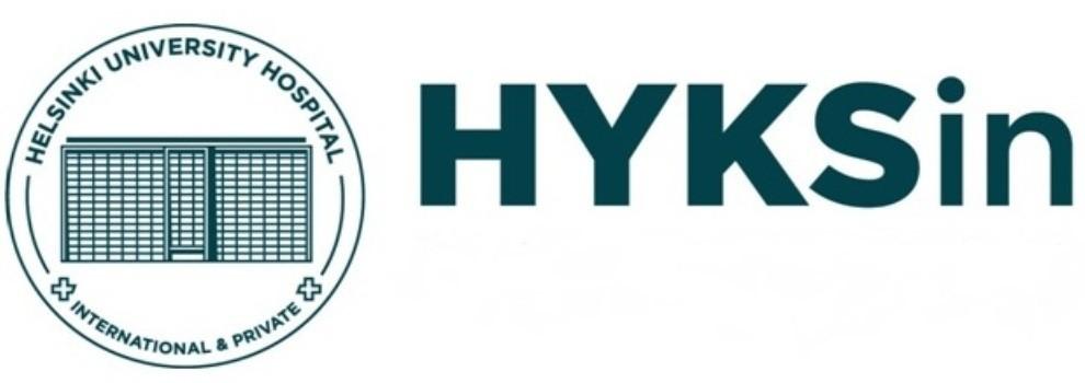 Лого университетская клиника Хельсинки
