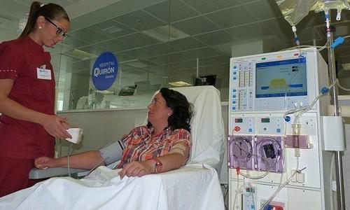 отделение гемодиализа кирон марбелья