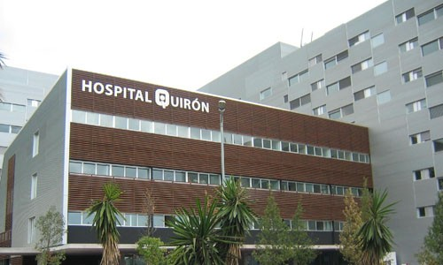 treatment in hospital quironsalude barcelona