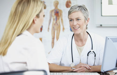 Сбор анамнеза пациентки при диагностике причин бесплодия