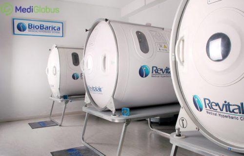 Hyperbaric treatment in the Catalunya Univeristy Hospital