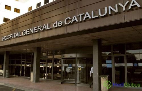 Catalunya University Hospital exterior