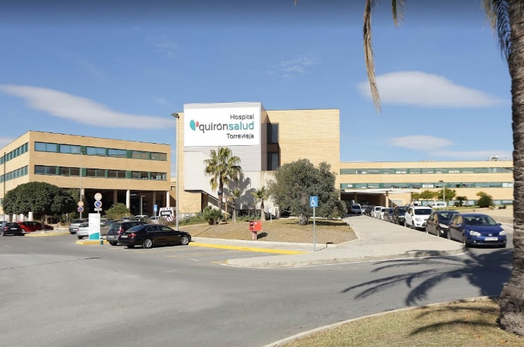 Quironsalud hospital in Torrevieja