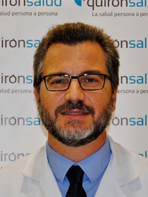 Surgeon of Spanish clinic Quironsalud in Torrevieja