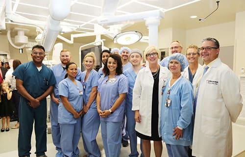 Doctors at the Transplantology Center Memorial