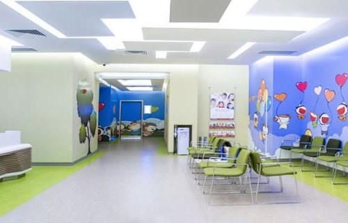 Pediatric department at Memorial Ankara