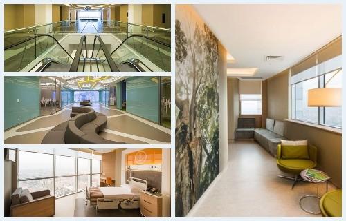 Cardiology, oncology, radiotherapy, orthopedics and surgery at Memorial Ankara