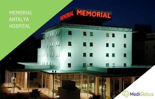 Memorial Hospital at Antalya Turkey