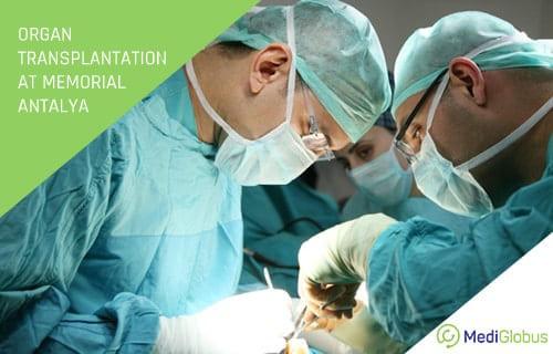 Organ transplantation at Memorial Hospital Antalya