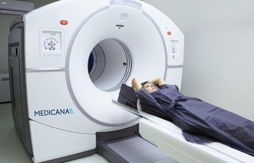 Для поиска опухолей, метастаз, патологий сердечно-сосудистой системы и головного мозга специалисты отделения ядерной медицины используют последнюю модель ПЭТ-КТ Discovery IQ.