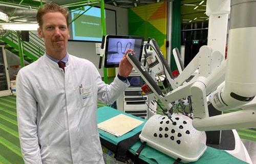 роботизированная хирургия при урологических болезнях в клинике аахен