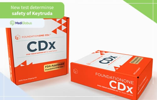 FOUNDATIONONE CDX GENETIC TEST TO DETERMINE INDICATIONS FOR KEYTRUDA