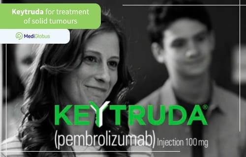 KEYTRUDA TREATMENT FOR SOLID TUMORS