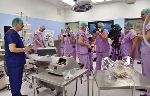 Операционный зал факультетской больницы в Брно