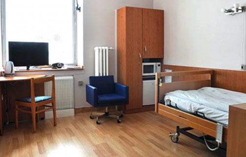 Палата пациентов в больнице Брно