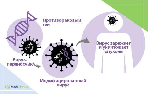лечение мелантомы вирусной терапией